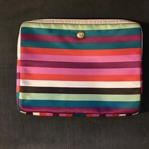 Coach Multi-Colored Padded Laptop Case [USED]